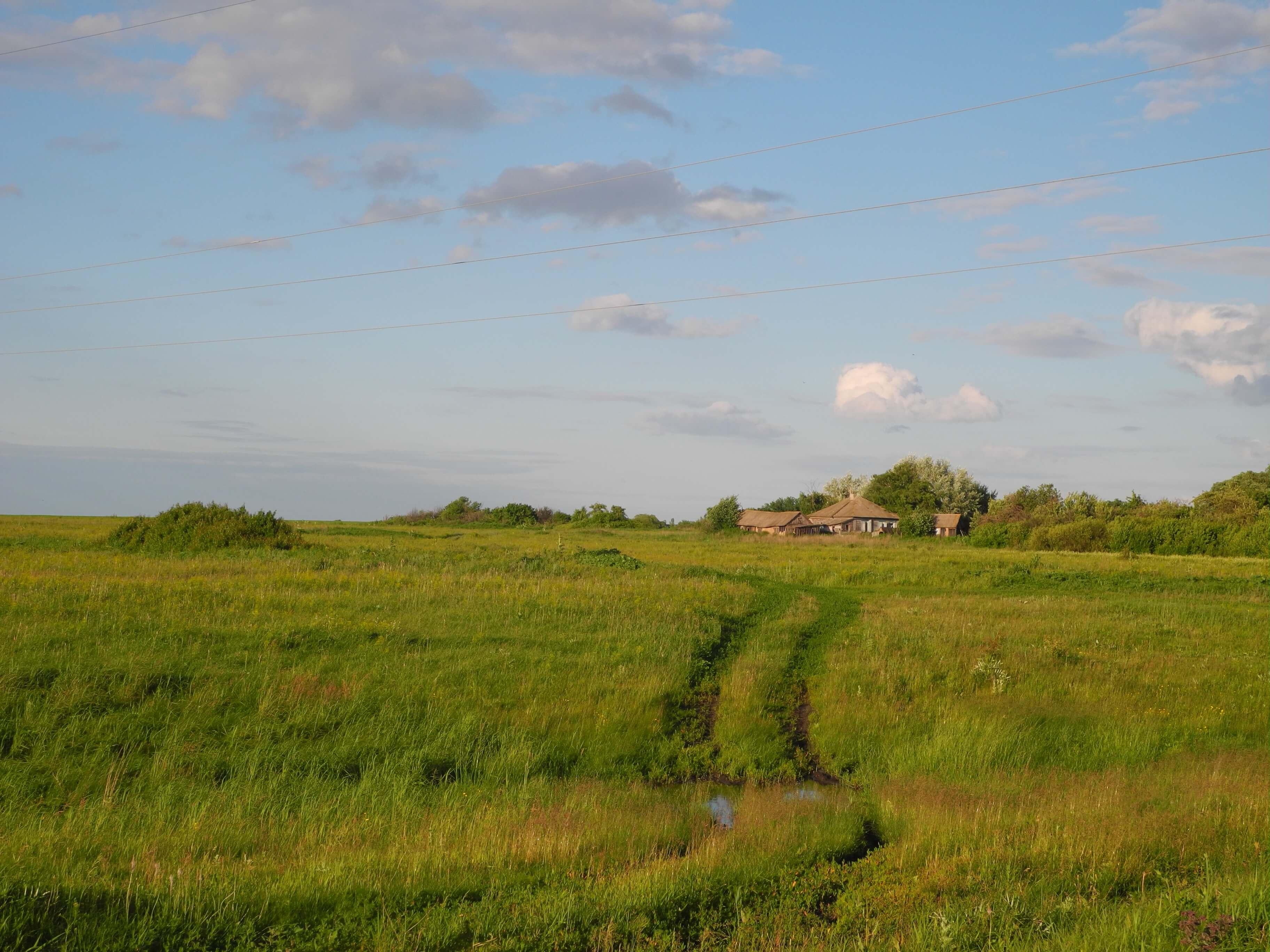 Купить земельный участок с домом под снос в деревне