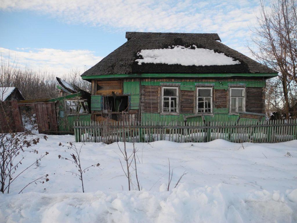 Получить дом в деревне даром