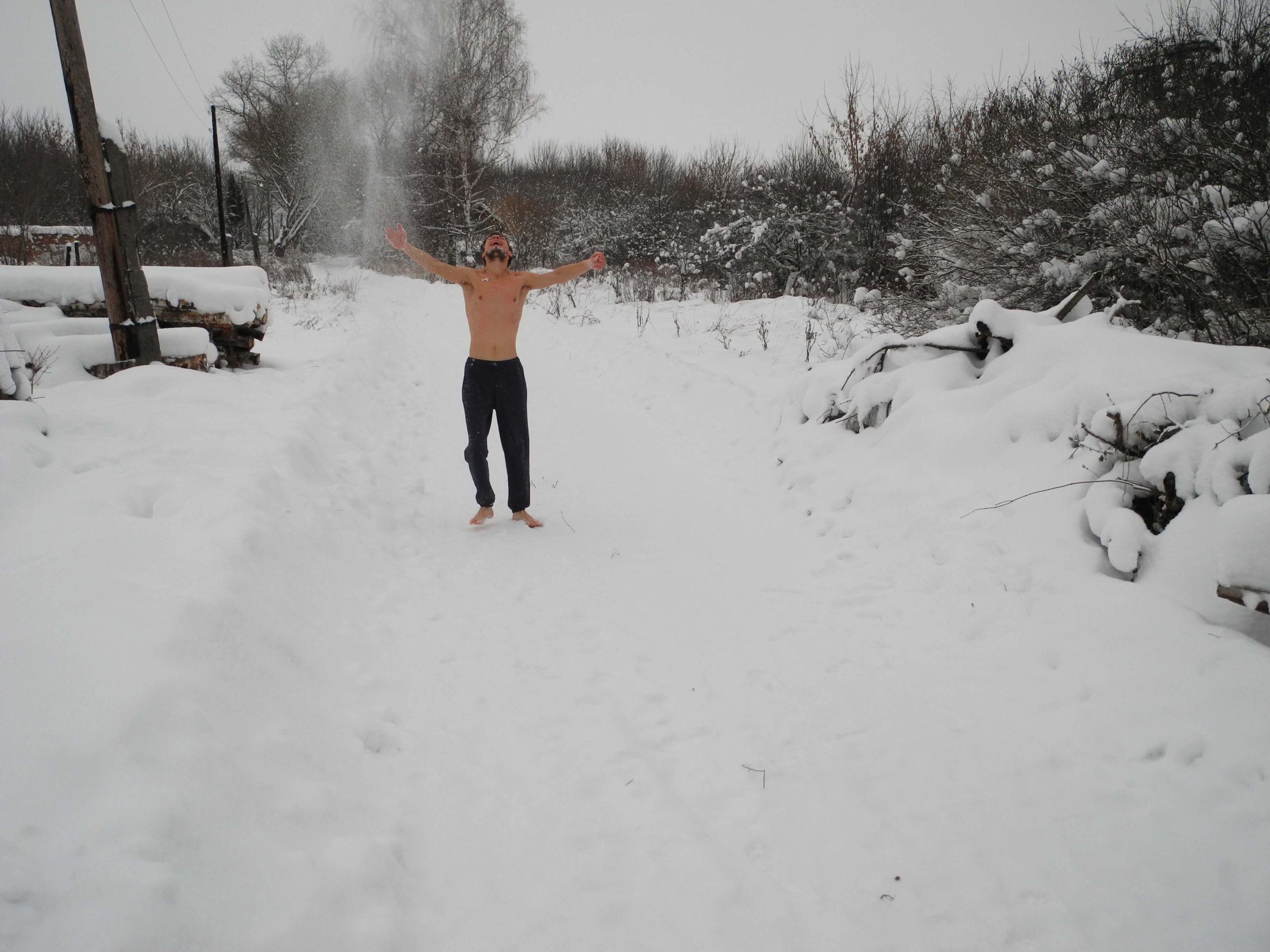 зимняя зарядка