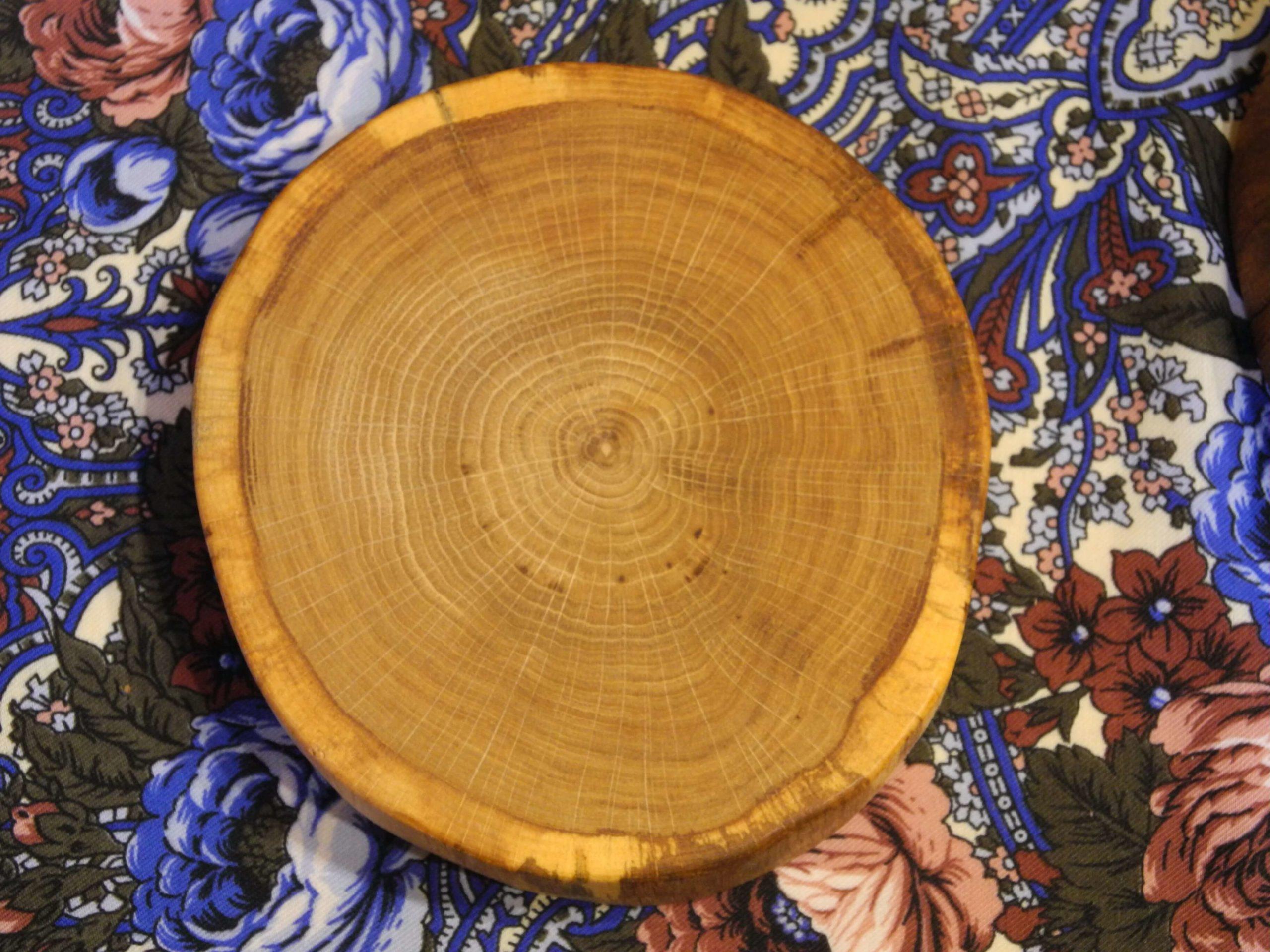Деревянный спил для декора своими руками фото