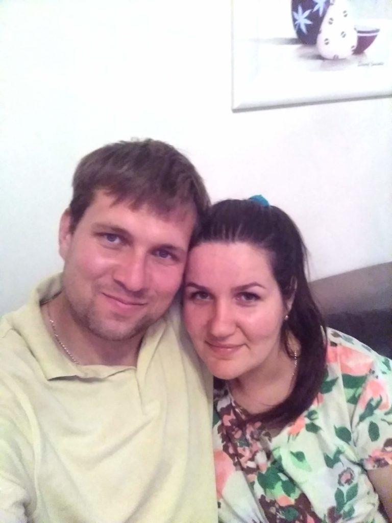 Семья из Белорусской деревни