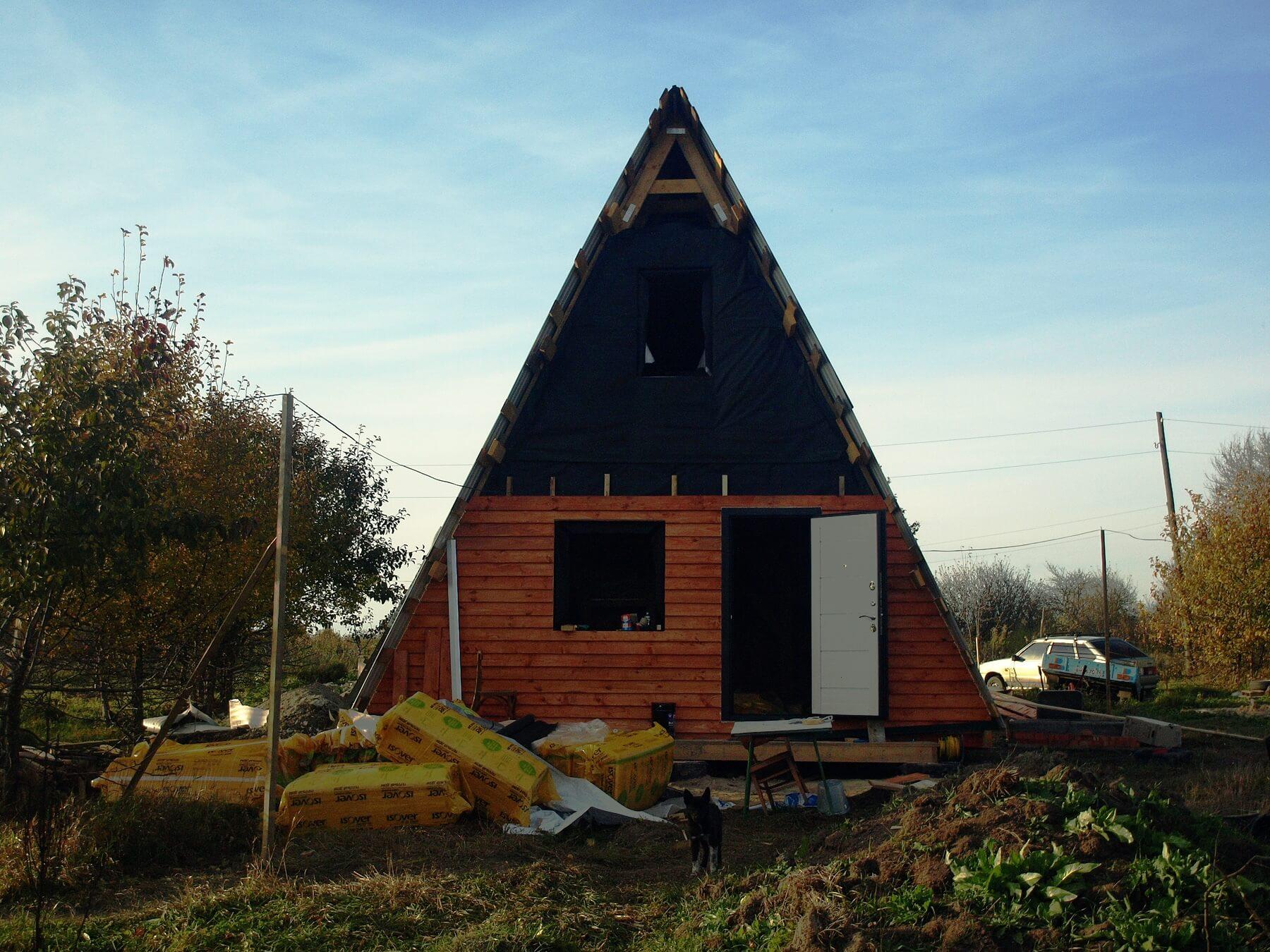 Мини-дом для круглогодичного проживания своими руками