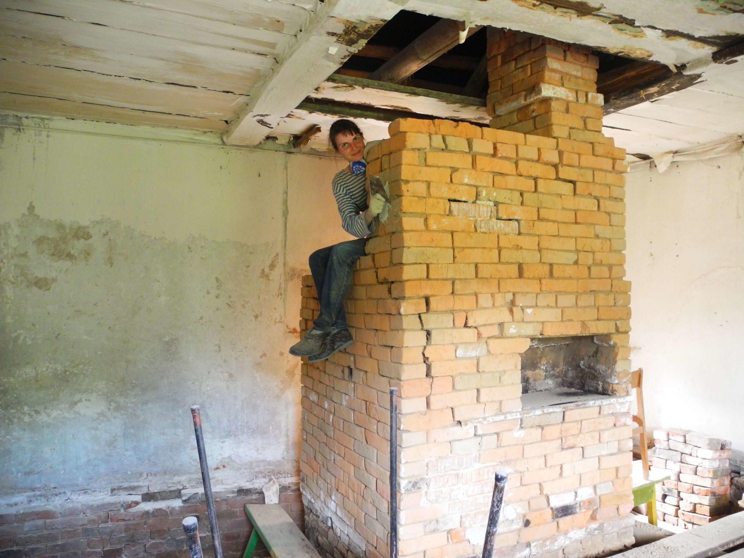 Реставрация русской печи