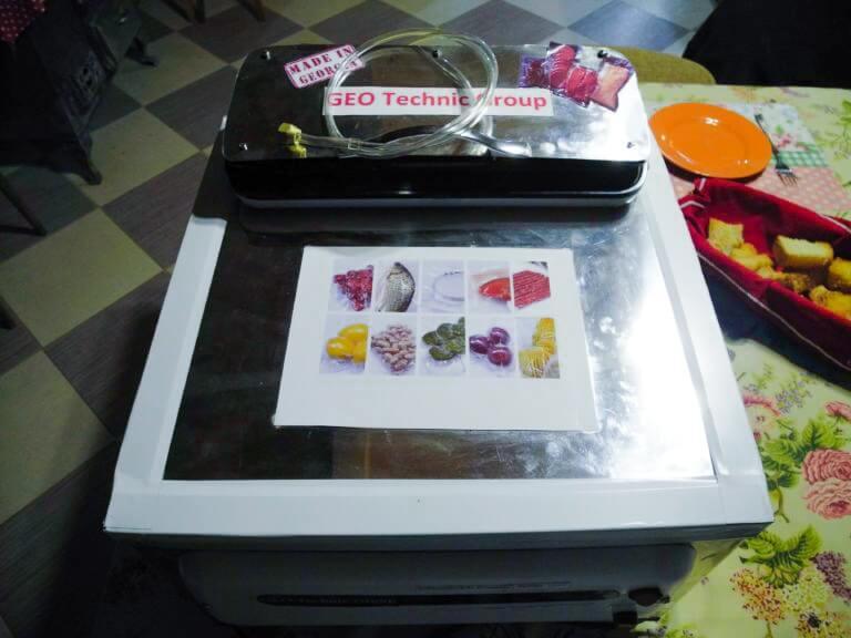 Аппарат для вакуумной упаковки сухофруктов