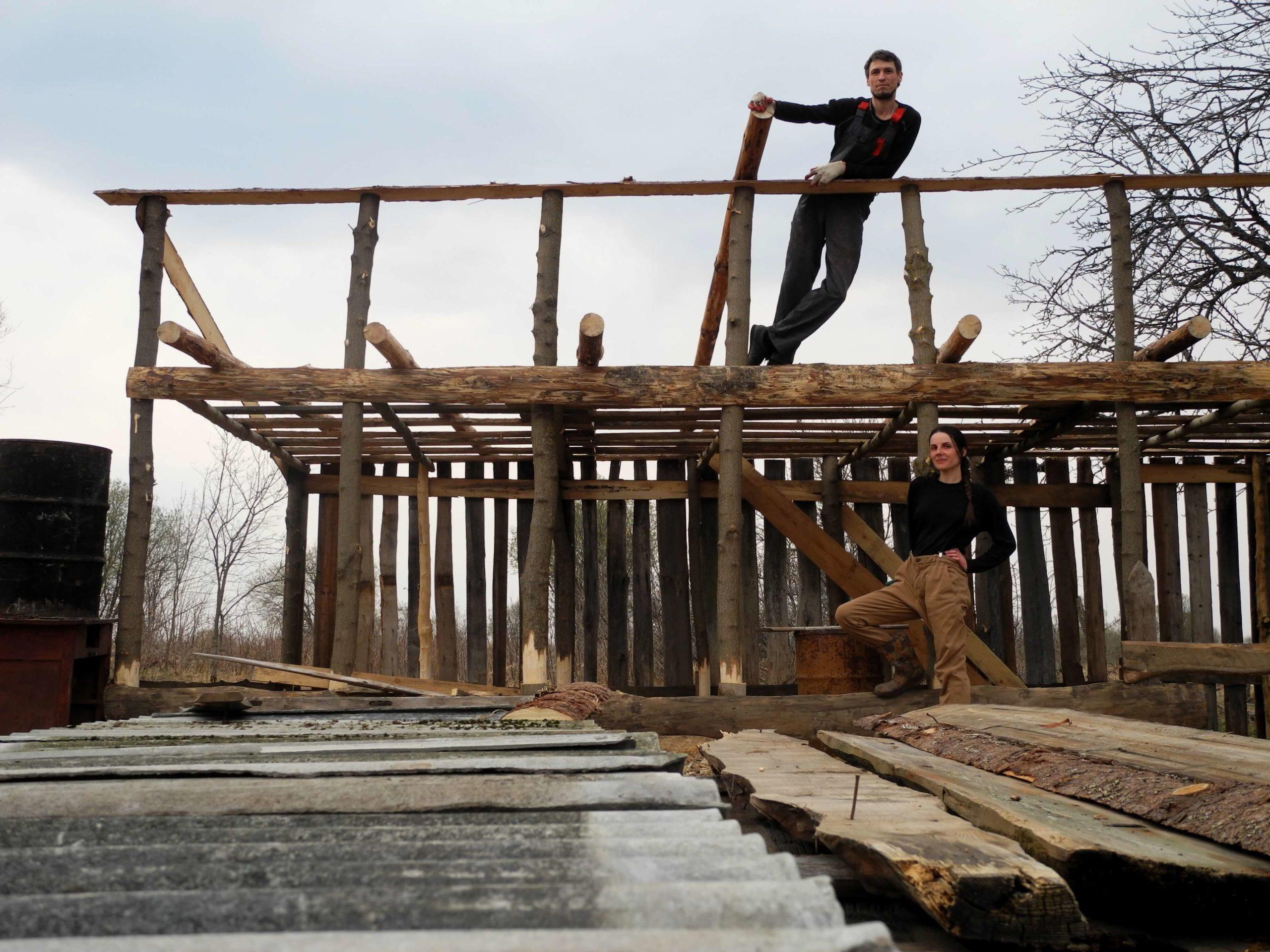 Навык строителя в деревне
