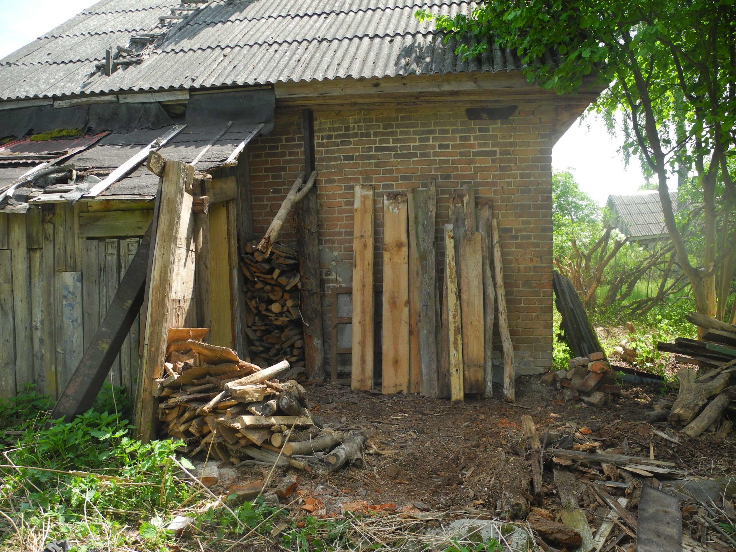 пристройка к деревенскому дому