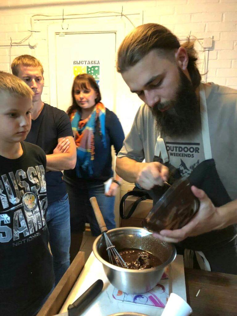 Мастер-класс по изготовлению шоколада
