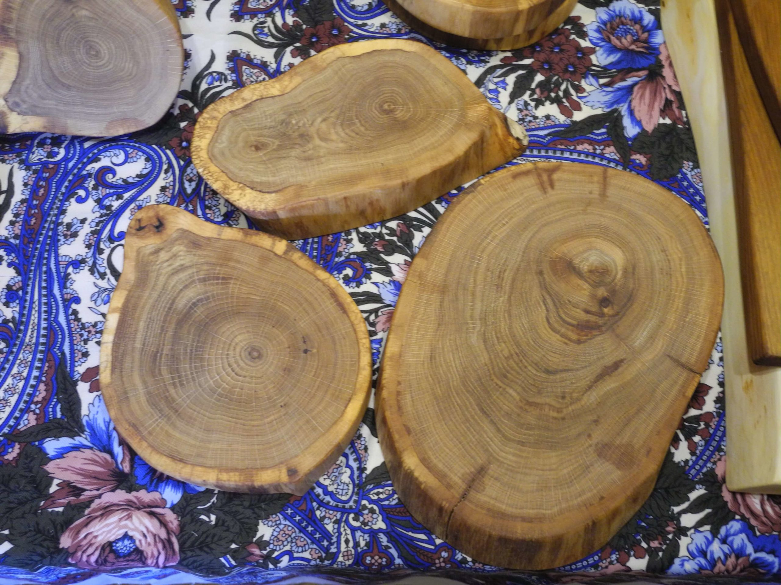 Спилы дерева для декора своими руками фото