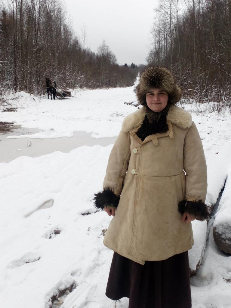 Семья Андреенковых в деревне