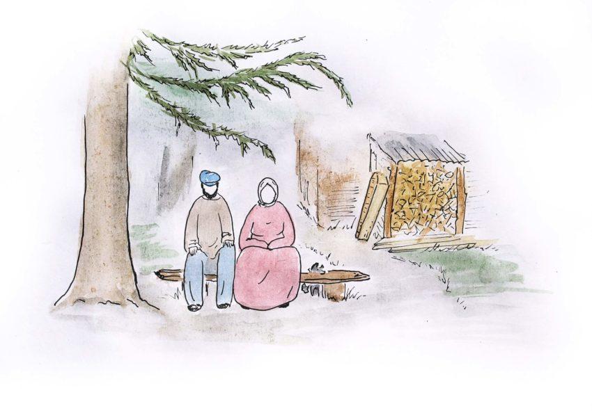 Рассказы про деревню Встань и иди гроб