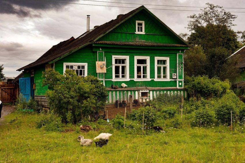 деревня и село в чем разница