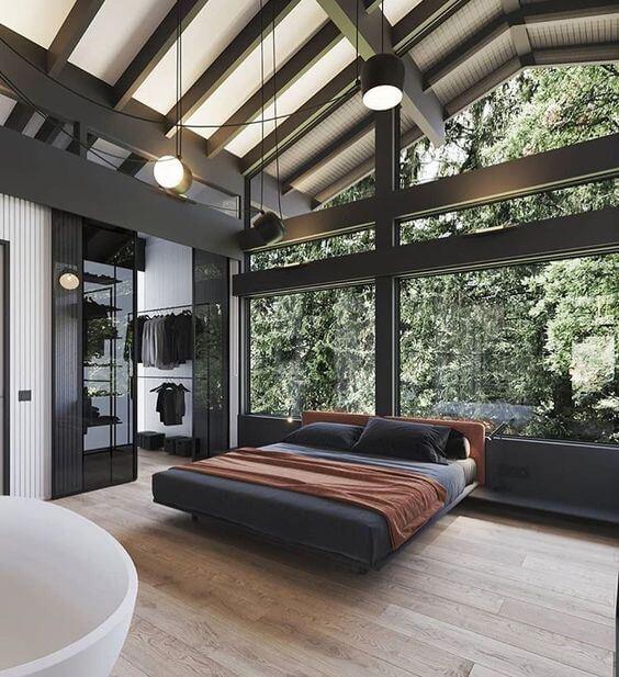 Современный дом в деревенском стиле