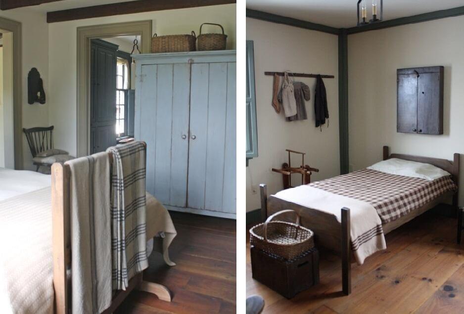 Комнаты в деревенском доме (фото)