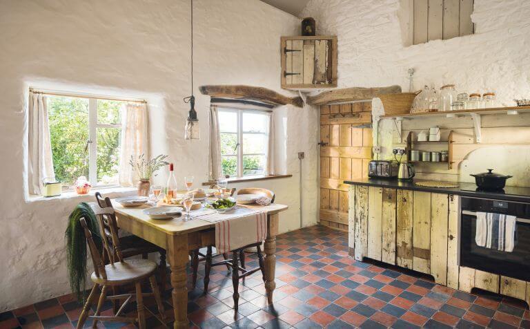 Дом в деревенском стиле интерьеры (фото)