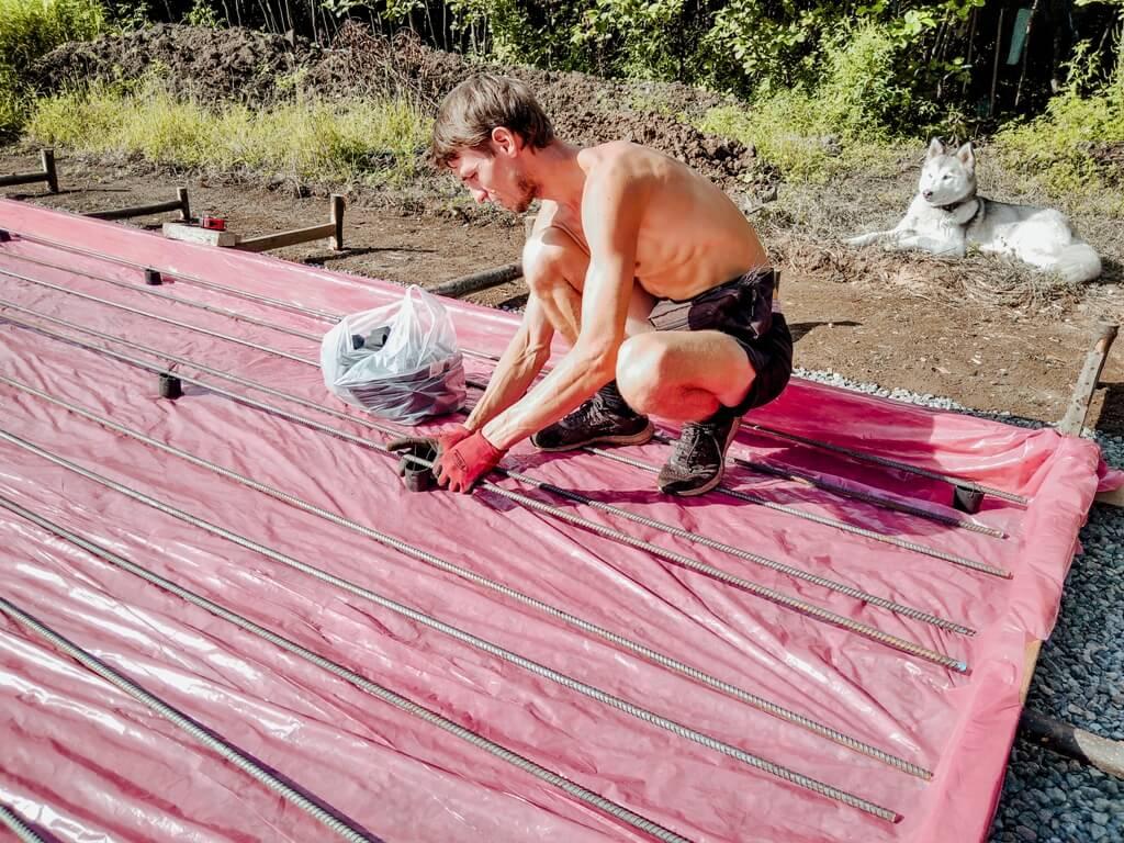 Армирование плиты фундамента своими руками