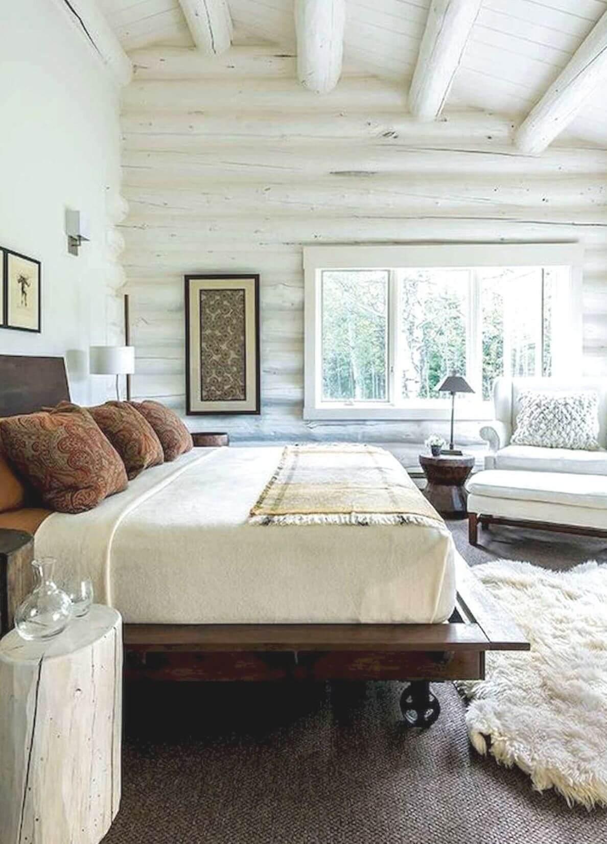 Интерьер деревянного дома из бруса (внутри фото)